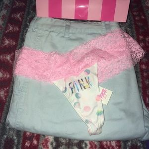 PINK Victoria's Secret Intimates & Sleepwear - ISO! Victoria's Secret PINK lace thong! Limited Ed